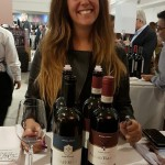 Clara Gentili at Great Wines of Italy in Miami
