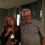 Elisabetta Geppetti at Wein co Saffredi's vertical tasting